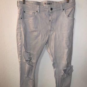 White Skinny Jeans H&M (34)